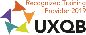 UXQB Logo Recognized Trainings Provider 2019